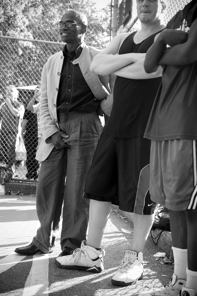 "NYC, QUE.: AUGUST 24, 2009 -- ""Coach"" West 4th Street Courts. (Vincenzo D'Alto)"