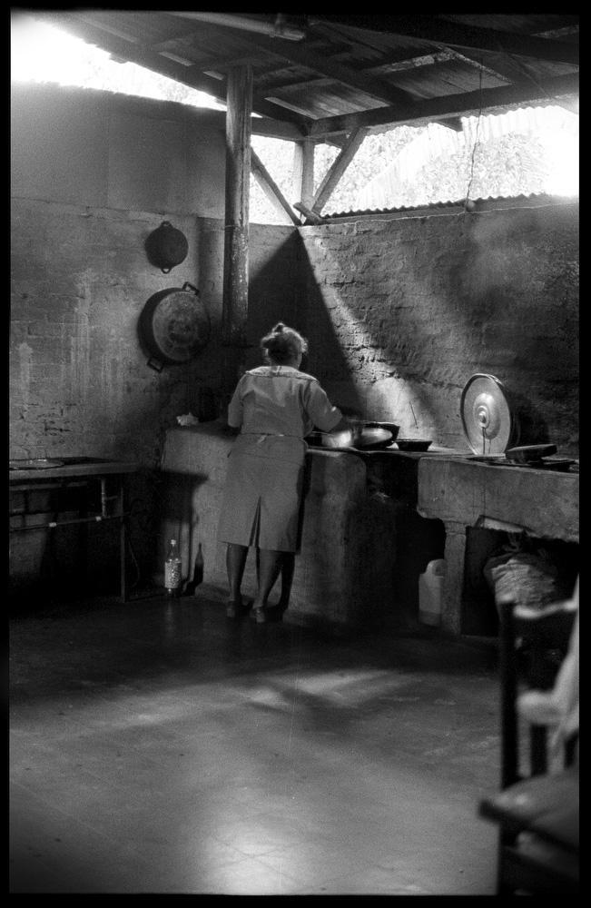 Woman in kitchen, Matagalpa, Nicaragua.