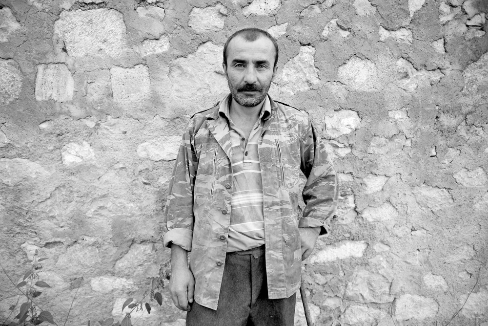 Yesav Hayrepatyan, 41, veteran od the Karabakh war.