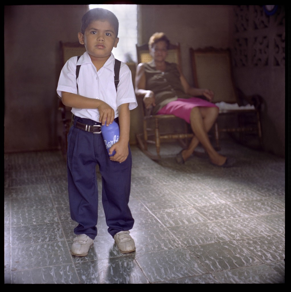 "RancherÌa, Nicaragua. Yonathan Cabrera Cañado, 4.  His mother Milena Cañado worked from 1974-1981 in banana plantations. Milena says the two kids that were born before she was working on plantations were born ""normal"". Yonathan seems okay, except he was born without a penis, as well as deformed belly button. Milena Cañado claims that, apart from being exposed to the pesticide through irrigation, and contacted with the bananas, workers would drink DCBP contaminated water from the wells, as well as eating bananas directly off the trees."